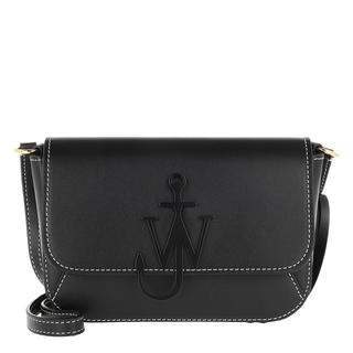 JW Anderson - Umhängetasche - Braided Midi Anchor Crossbody Bag Black - in schwarz - für Damen