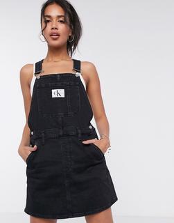 Calvin Klein Jeans - Schwarzes Overall-Kleid
