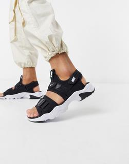 Nike - City – Sandalen in Schwarz