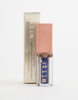 Stila - Shimmer & Glow – Flüssiger Lidschatten – Vivid Sapphire-Mehrfarbig