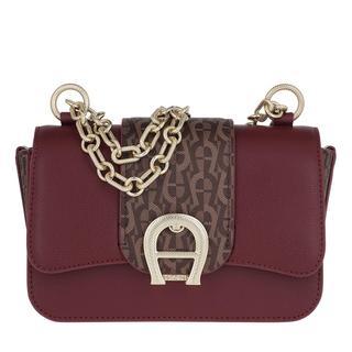 Aigner - Umhängetasche - Verona Small Crossbody Bag Burgundy - in rot - für Damen