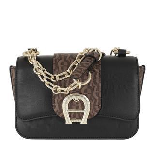 Aigner - Umhängetasche - Verona Small Crossbody Bag Fango - in schwarz - für Damen