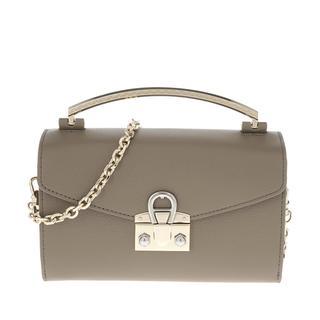 Aigner - Umhängetasche - Mina Handle Bag Feather Grey - in grau - für Damen