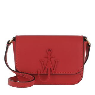 JW Anderson - Umhängetasche - Nano Anchor Bag Cherry - in rot - für Damen