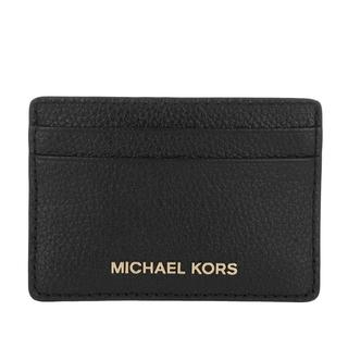 MICHAEL KORS - Portemonnaie - Jet Set Card Holder Black - in schwarz - für Damen