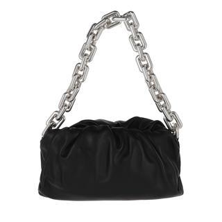 Bottega Veneta - Hobo Bag - The Chain Medium Pouch Leather Black - in schwarz - für Damen