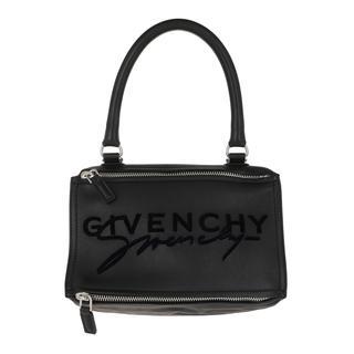 Givenchy - Tote - Pandora Logo Tote Bag Leather Black - in schwarz - für Damen