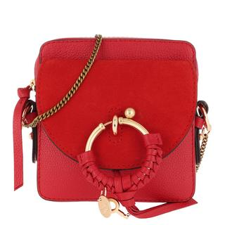 See by Chloé - Umhängetasche - Joan Camera Bag Leather Radiant Red - in rot - für Damen