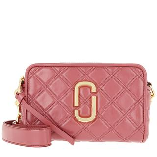Marc Jacobs - Umhängetasche - The Soft Shot 21 Leather Santa Fe Red - in rosa - für Damen