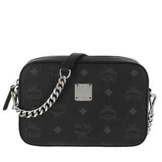 MCM - Umhängetasche - Visetos Original Camera Crossbody Bag Black - in schwarz - für Damen