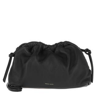Mansur Gavriel - Umhängetasche - Mini Cloud Clutch Leather Black - in schwarz - für Damen