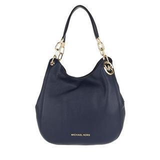 MICHAEL KORS - Shopper - Lillie Large Chain Shoulder Bag Navy - in marine - für Damen
