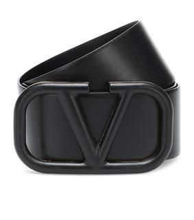 Valentino Garavani - Gürtel VLOGO aus Leder