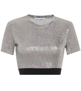 Paco Rabanne - Cropped-Top aus Jersey