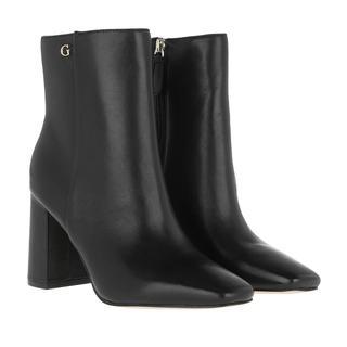 guess - Boots - Adelia Bootie Leather Black - in schwarz - für Damen