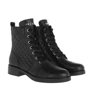 guess - Boots - Breah Bootie Leather Black - in schwarz - für Damen