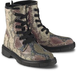 Marco Tozzi - Schnür-Boots in python, Boots für Damen