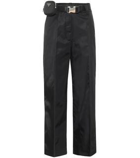 Prada - Verzierte Hose aus Nylon