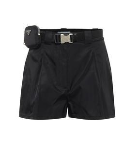 Prada - Shorts aus Nylon