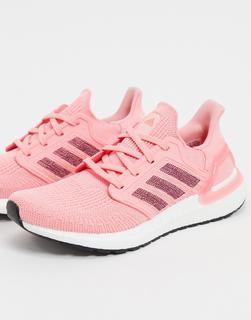 adidas Performance - adidas – Running Ultraboost 20 – Sneaker in Rosa