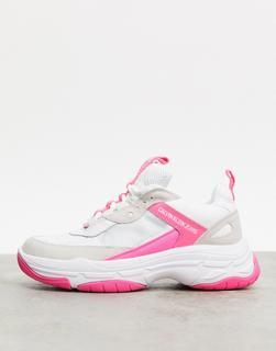 Calvin Klein - Maya – Robuste Sneaker in Rosatönen