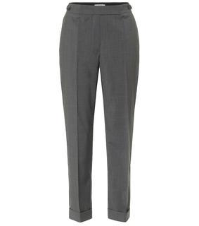 Prada - Cropped-Hose aus Schurwolle