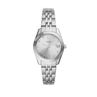 Fossil - Uhr - Scarlette Mini Watch Dress Silver - in silber - für Damen