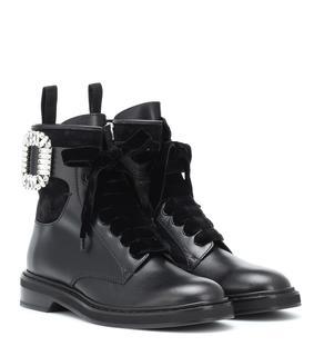 Roger Vivier - Ankle Boots Viv' Rangers Strass