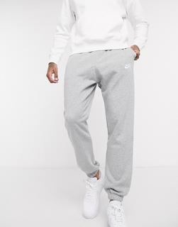 Nike - Club – Legere Jogginghose mit engen Bündchen in Grau
