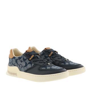 Coach - Sneakers - Shoes Low Top Sneaker Chambray - in marine - für Damen