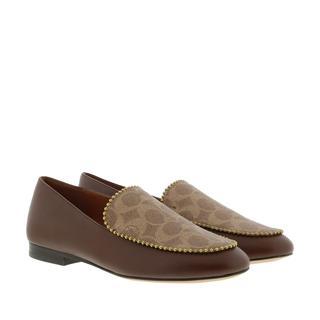 Coach - Schuhe - Shoes Loafers Dark Saddle Tan - in braun - für Damen
