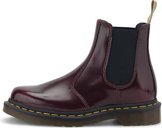 DR. MARTENS - Chelsea-Boots 2976 Vegan in rot, Boots für Damen