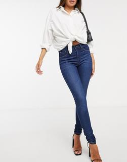 Levis - Levi's – Mile High – Superenge Jeans in Dunkelblau