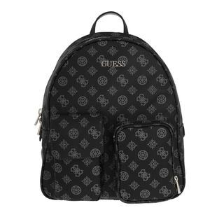 guess - Rucksack - Utility Vibe Large Backpack Coal - in schwarz - für Damen