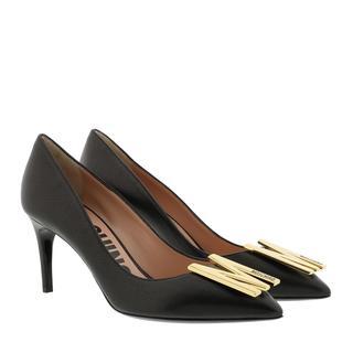 Moschino - Pumps - Pumps Leather Black - in schwarz - für Damen