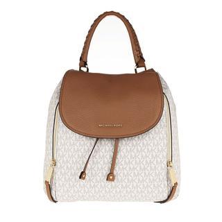 MICHAEL KORS - Rucksack - Viv Lg Backpack Vanilla/Acorn - in beige - für Damen