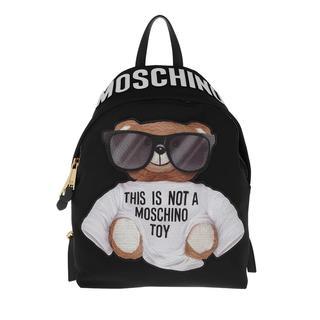 Moschino - Rucksack - Backpack Fantasia Nero - in schwarz - für Damen