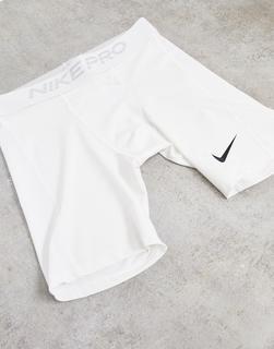 Nike Training - Nike – Pro Training – Boxershorts in Weiß