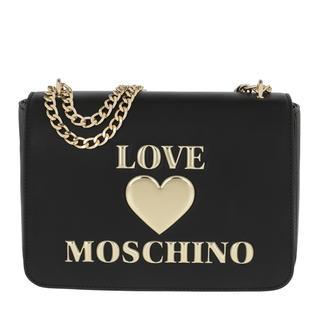 Love Moschino - Satchel Bag - Small Crossbody Bag   Nero - in schwarz - für Damen