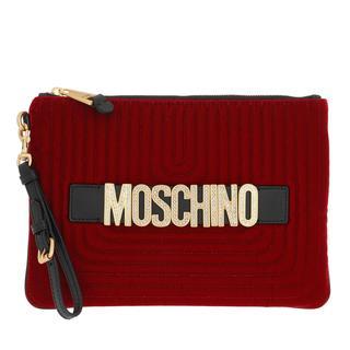Moschino - Pochette - Pochette Fantasia Rosso - in rot - für Damen