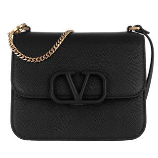 Valentino - Umhängetasche - V Sling Shoulder Bag Black - in schwarz - für Damen