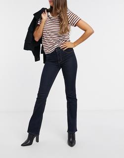 Levis - Levi's – 725 – Indigoblaue Bootcut-Jeans mit hohem Bund