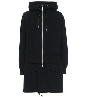 Sacai - Mantel aus Jersey