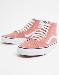 Vans - UA Sk8-Hi – Sneaker in Rosa