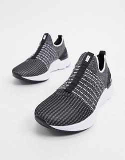 Nike Running - React Phantom Flyknit – Schwarze Sneaker