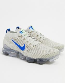Nike - Air Vapormax 3.0 Flyknit–Sneakerin hellem Elfenbein-Beige