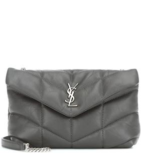 Saint Laurent - Schultertasche Loulou Toy Puffer