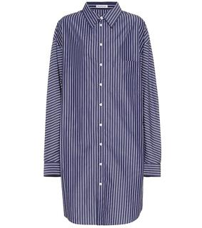 balenciaga - Hemdblusenkleid aus Baumwolle