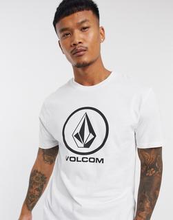 Volcom - Crisp Stone – Weißes T-Shirt