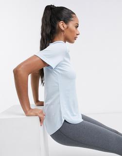 adidas Performance - adidas – Training – Blaues T-Shirt